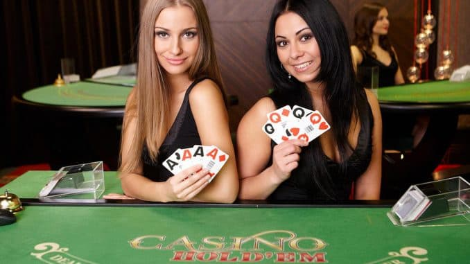 live poker hos casino